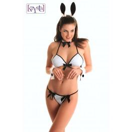 Costume da coniglietta 6 pezzi