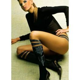 Ballerina collant Caprice finte cinghie